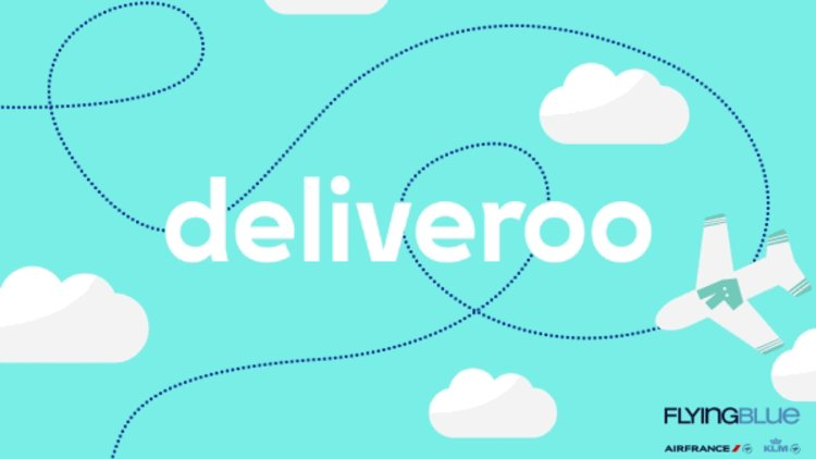 Flying Blue x Deliveroo